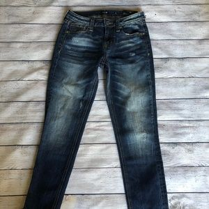 NWT Miss Me Ankle Skinny Jeans Size 25